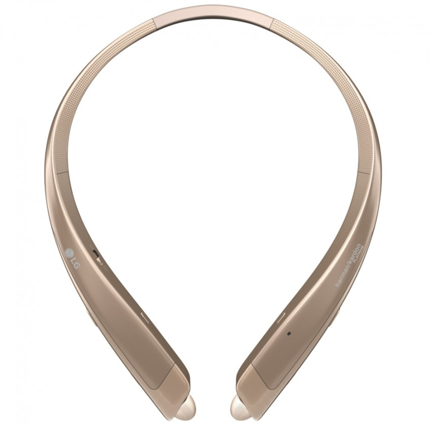 LG HBS-1100 TONE PLATINUM® Bluetooth® Wireless Stereo Headset Gold