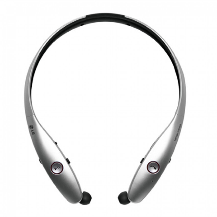 LG HBS-900 TONE INFINIM™ Wireless Stereo Headset Silver