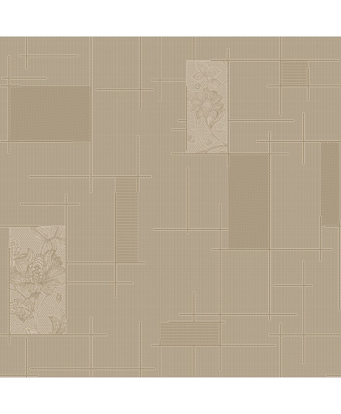 Browns Floral Wall Covering Decor Non-woven Wallpaper