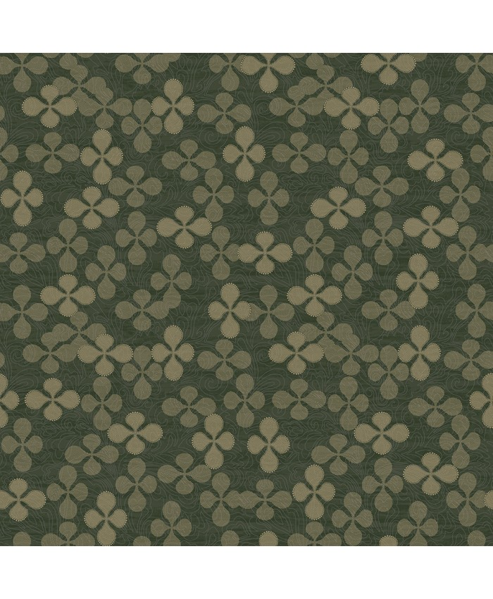 Greens Leaf Wall Covering Decor Non-woven Wallpaper