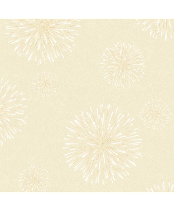 Beiges Fireworks Wall Covering Decor Non-woven Wallpaper