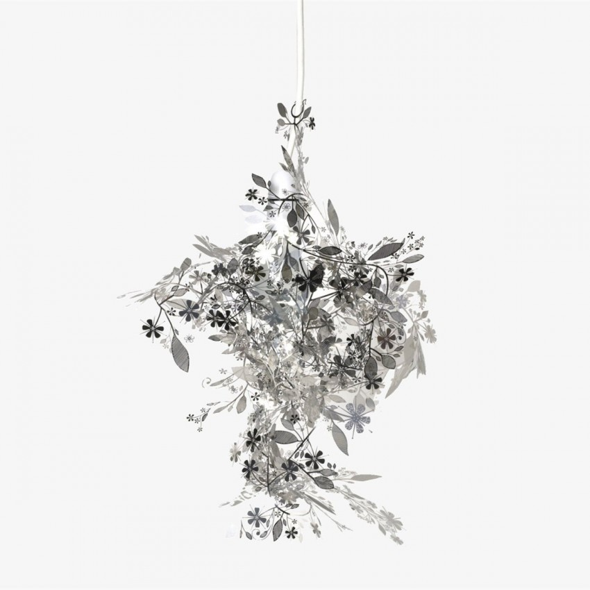 Habitat Tord Boontje's Garland light shade flower lamp pendant chandelier,Sliver