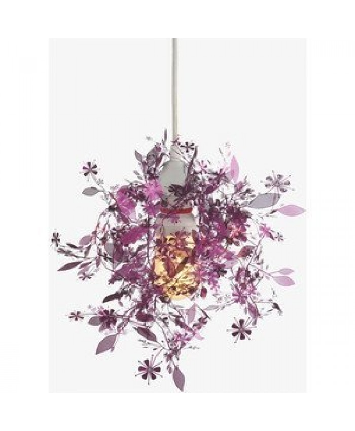 Habitat Tord Boontje's Garland light shade flower lamp pendant chandelier,Purple