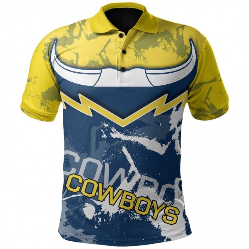 Cowboys Rugby Indigenous Polo Shirt
