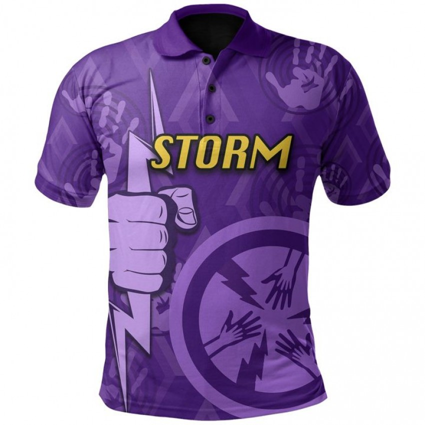 Storm Rugby Indigenous Polo Shirt