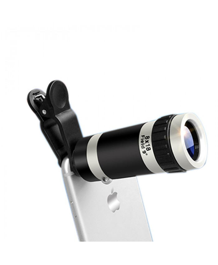 8x mobile phone telescope HD external mobile phone lens