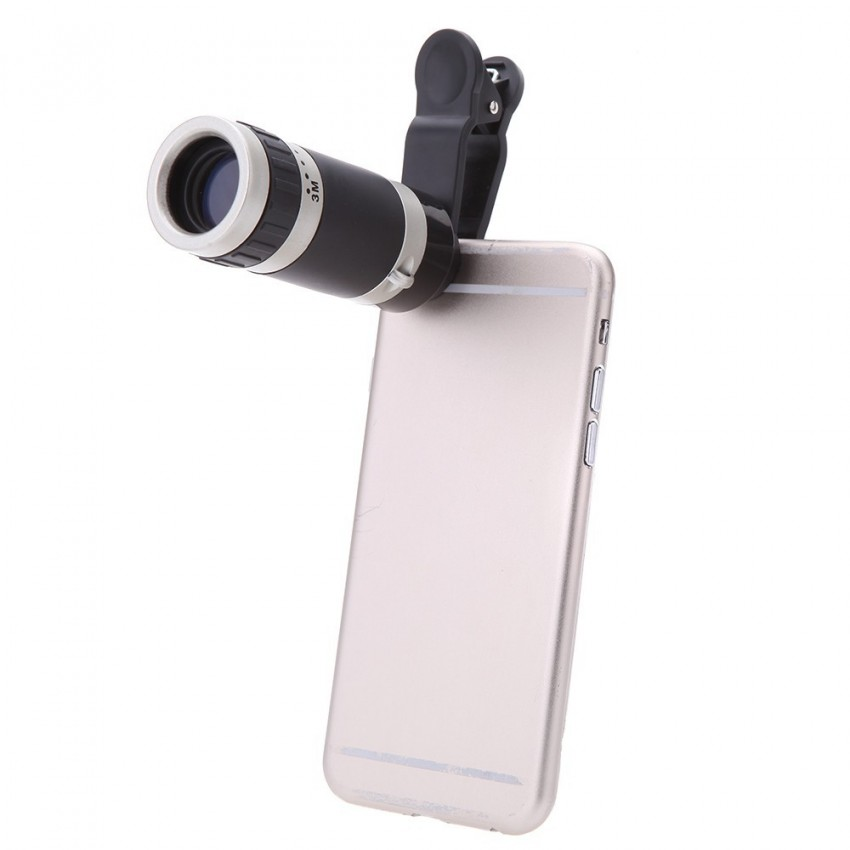 8x no vignetting mobile telescope mini universal version