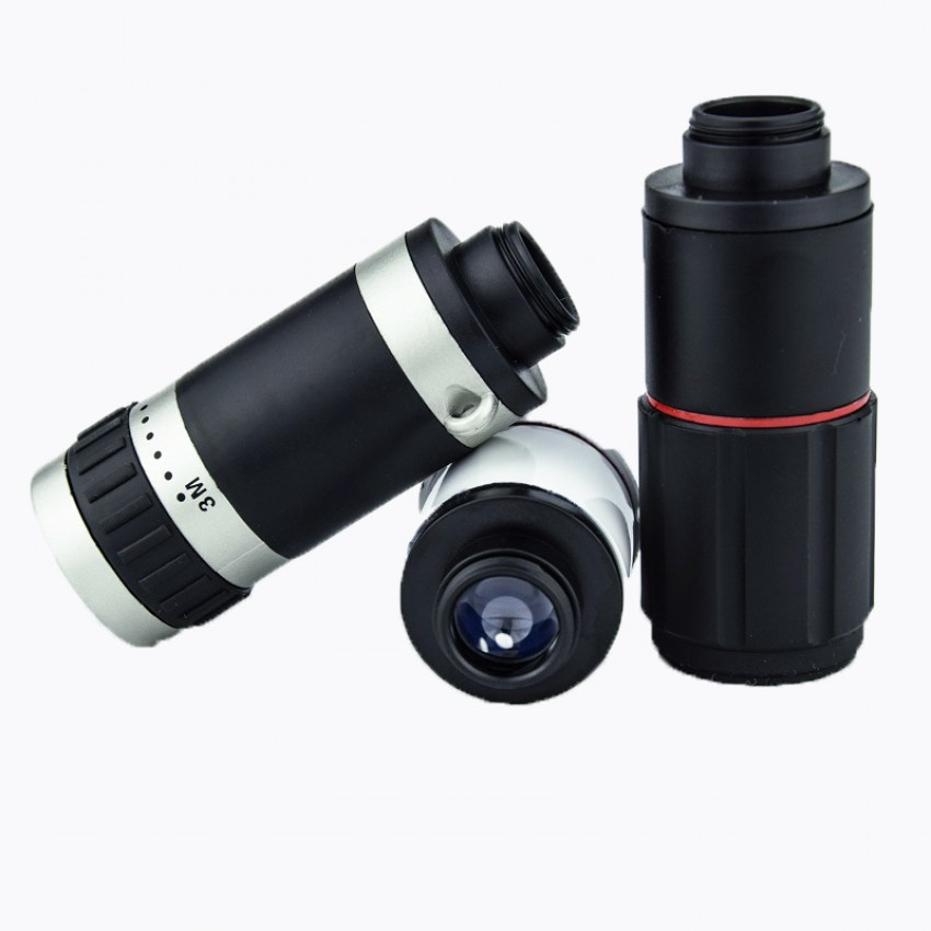 High-definition all-optical lens camera portable telescope