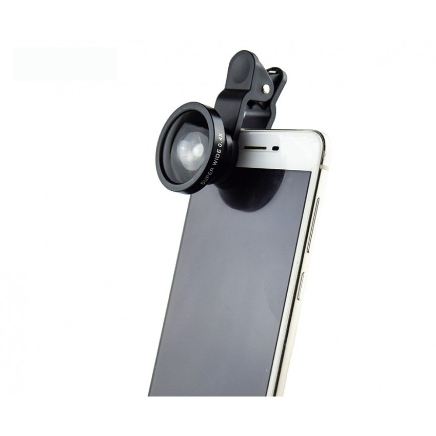 Wide angle macro fisheye CPL filter 2x teleconverter mobile phone lens five in one combination set